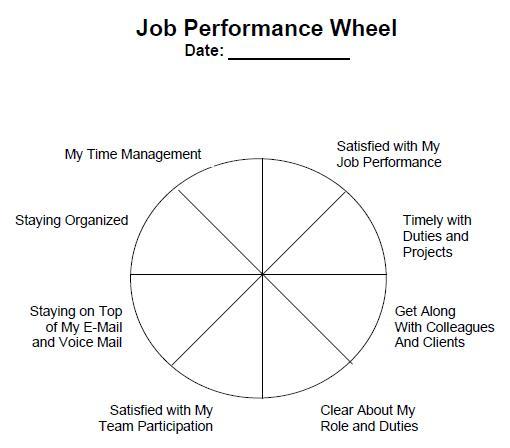 Job Performance Wheel | Nkpuhe